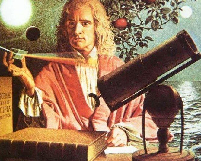 Великие мистики в реалиях: Сэр Исаак Ньютон алхимия, мистика, ньютон, оккультизм