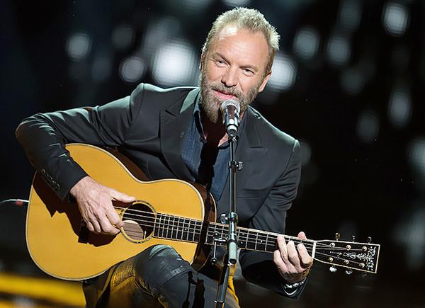 Sting - Любимые песни - 2015
