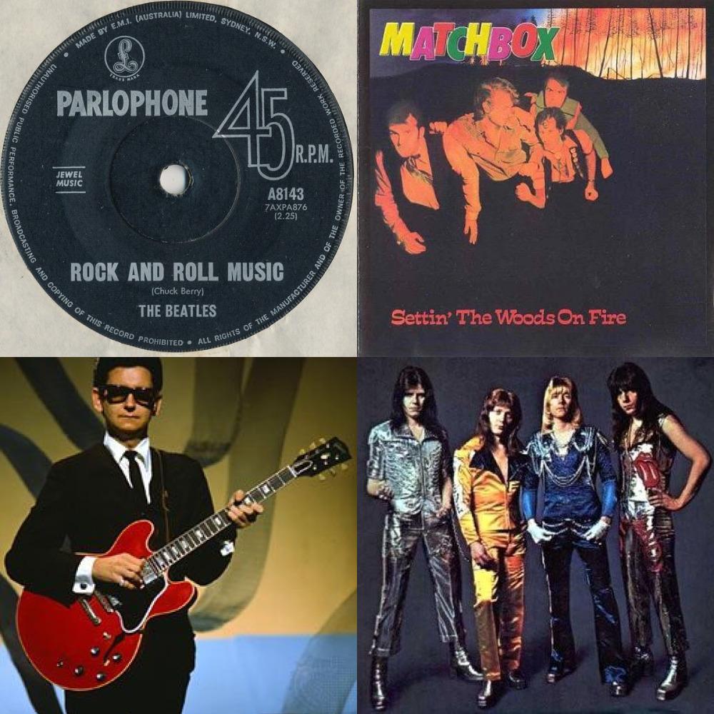 ремиксы классических рок-н-роллов зарубежных